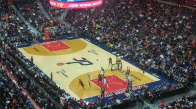 Capital One Arena, vak: 406, rij: F, stoel: 8