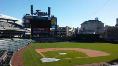 Comerica Park, vak: Press Box