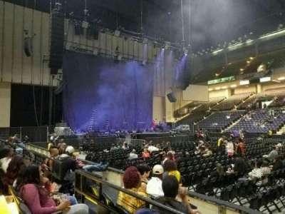 Royal Farms Arena, vak: 109, rij: B, stoel: 7