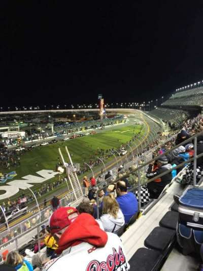 Daytona International Speedway, vak: N, rij: 36, stoel: 8