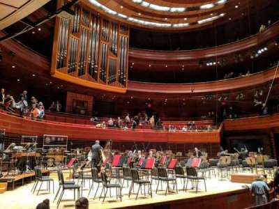 Verizon Hall at the Kimmel Center, vak: Orch Box 24, stoel: 3