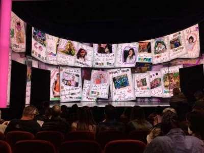 August Wilson Theatre, vak: Orch Center, rij: H, stoel: 109