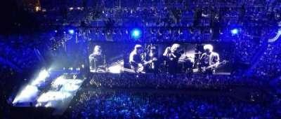 T-Mobile Arena, vak: 205, rij: WC, stoel: 10