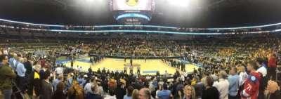 PPG Paints Arena, vak: 102, rij: L, stoel: 8