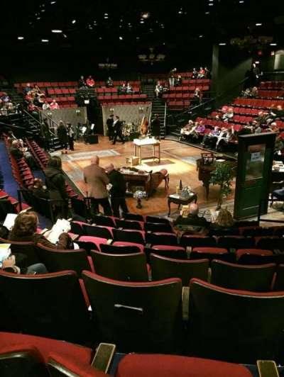 Circle in the Square Theatre, vak: 100's (Odd), rij: H, stoel: 119