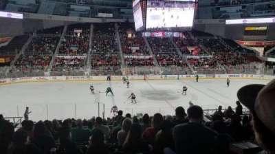Bojangles' Coliseum, vak: 122, rij: U, stoel: 9