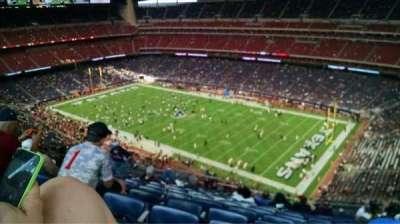 NRG Stadium, vak: 603, rij: P, stoel: 16