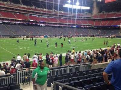 NRG Stadium, vak: 138, rij: J, stoel: 1