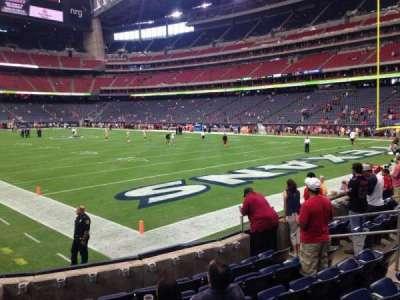 NRG Stadium, vak: 139, rij: G, stoel: 1