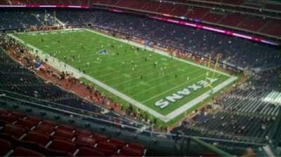 NRG Stadium, vak: 502, rij: M, stoel: 1