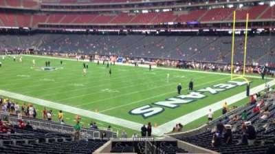 NRG Stadium, vak: 121, rij: CC, stoel: 1