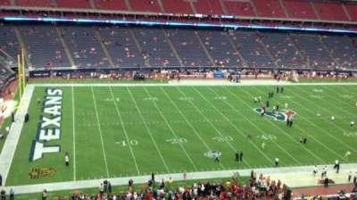 NRG Stadium, vak: 512, rij: G, stoel: 1
