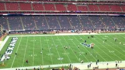 NRG Stadium, vak: 511, rij: M, stoel: 1