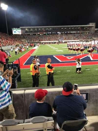 Arizona Stadium, vak: 13, rij: 2, stoel: 27