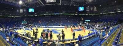 Rupp Arena, vak: 14, rij: B, stoel: 9