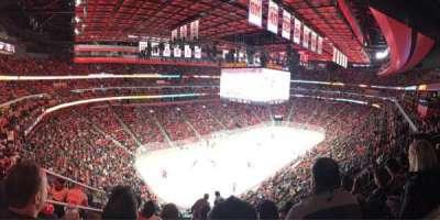 Little Caesars Arena, vak: M33, rij: 5, stoel: 13