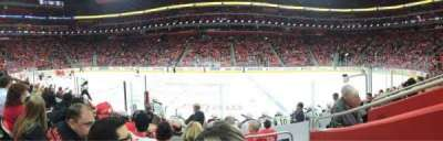 Little Caesars Arena, vak: 122, rij: 7, stoel: 1