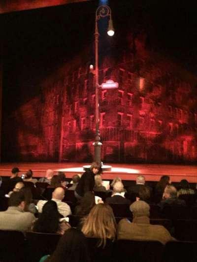 Longacre Theatre, vak: Orch, rij: H, stoel: 108