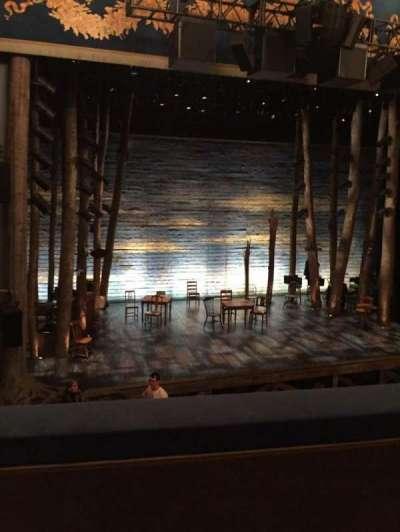 Gerald Schoenfeld Theatre, vak: Mezz, rij: B, stoel: 3