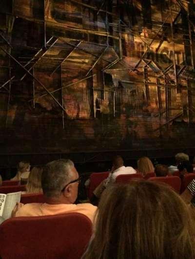 Broadway Theatre - 53rd Street, vak: Orch, rij: G, stoel: 4