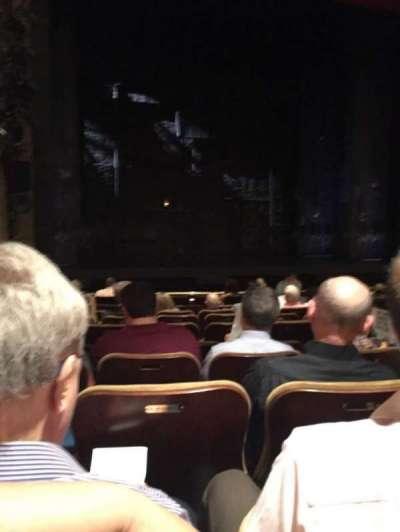 Samuel J. Friedman Theatre, vak: Orch, rij: K, stoel: 117