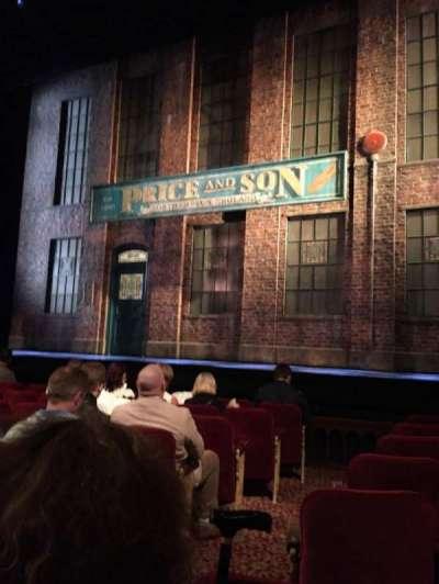 Al Hirschfeld Theatre, vak: Orch, rij: H, stoel: 4