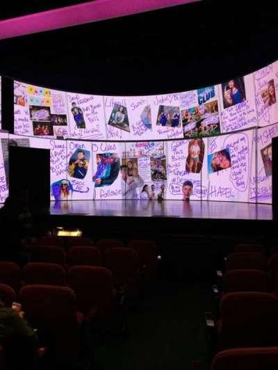 National Theatre (DC), vak: Orch, rij: H, stoel: 2