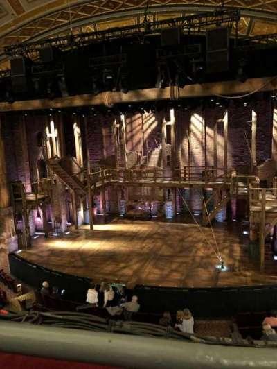 Richard Rodgers Theatre, vak: Mezz, rij: A, stoel: 2