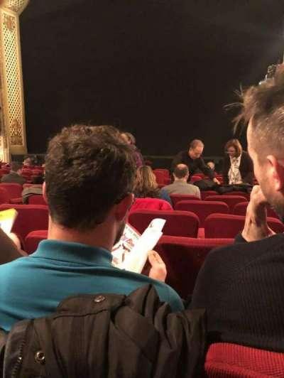 Cort Theatre, vak: Orch, rij: L, stoel: 12