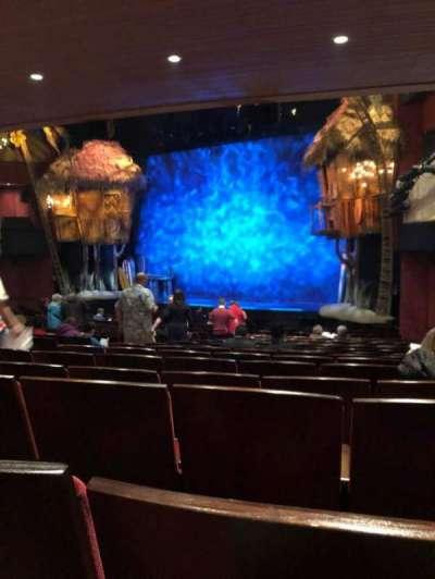 Marquis Theatre, vak: Orch, rij: U, stoel: 14