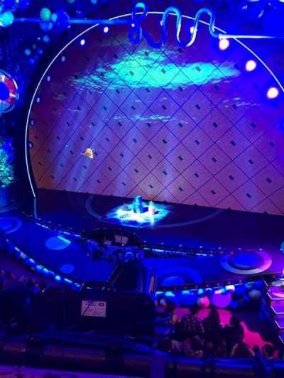 Palace Theatre (Broadway), vak: MEZZ, rij: AA, stoel: 4