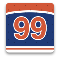 99 hockey photos in honor or The Great One, Wayne Gretzky