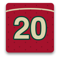 20 photos with the Minnesota Wild at home