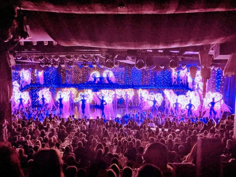 Uitzicht voor Moulin RougeRij Last