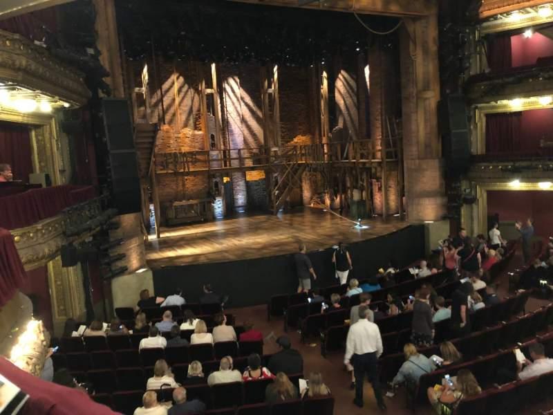CIBC Theatre, vak: DRCR-L, rij: A, stoel: 1