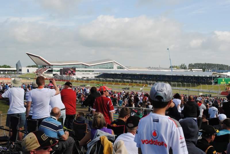 Uitzicht voor Silverstone Circuit Vak General Admission