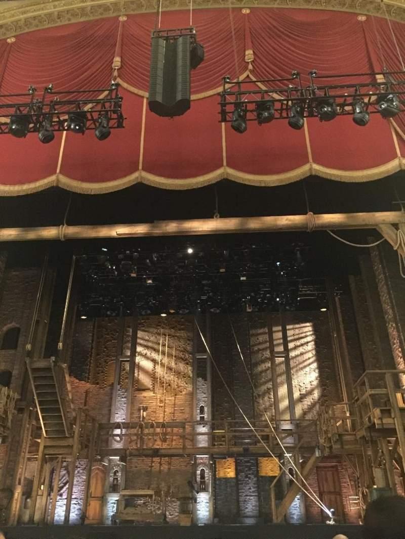 Uitzicht voor Boston Opera House Vak Orchestra Center Rij D Stoel 104
