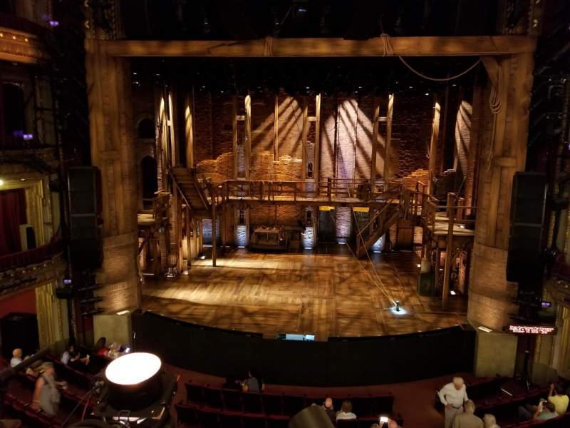 CIBC Theatre, vak: MEZZRC, rij: A, stoel: 302
