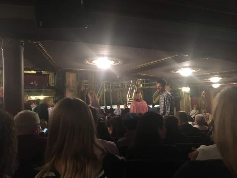 Uitzicht voor CIBC Theatre Vak Orchestra R Rij X Stoel 12