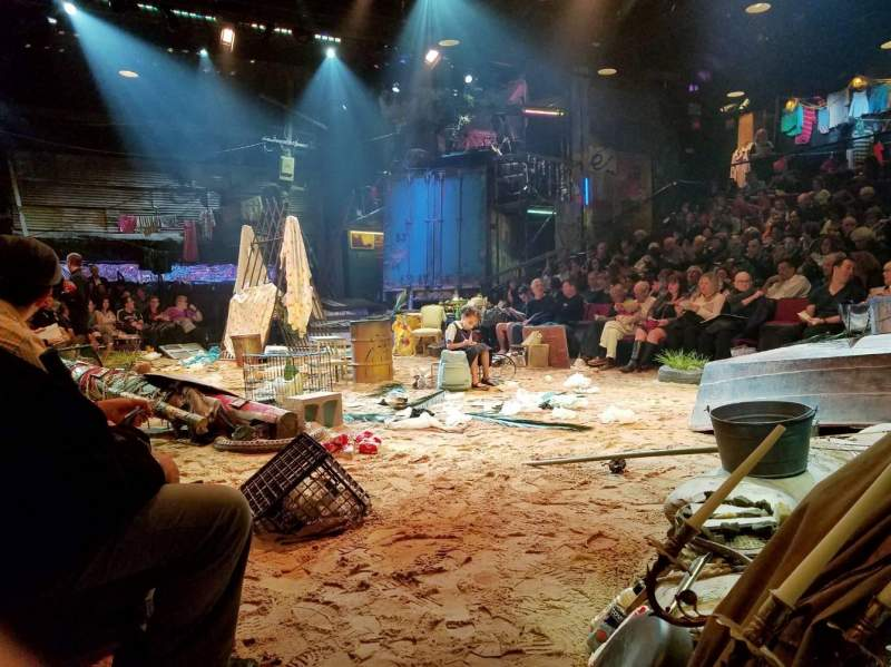 Circle in the Square Theatre, vak: ORCH, rij: A, stoel: 109
