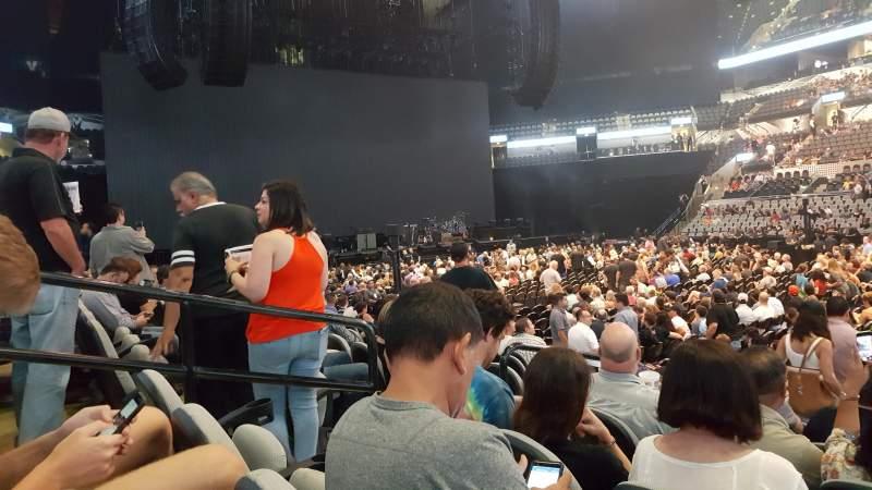 AT&T Center, vak: 6, rij: 12, stoel: 19