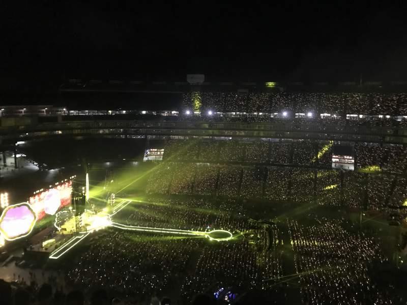 Gillette Stadium, vak: 309, rij: 20, stoel: 7