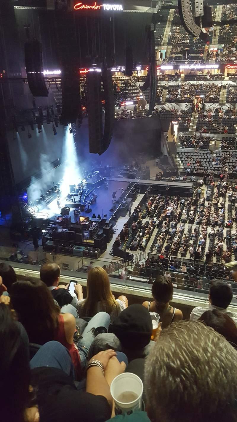 AT&T Center, vak: 209, rij: 4, stoel: 13