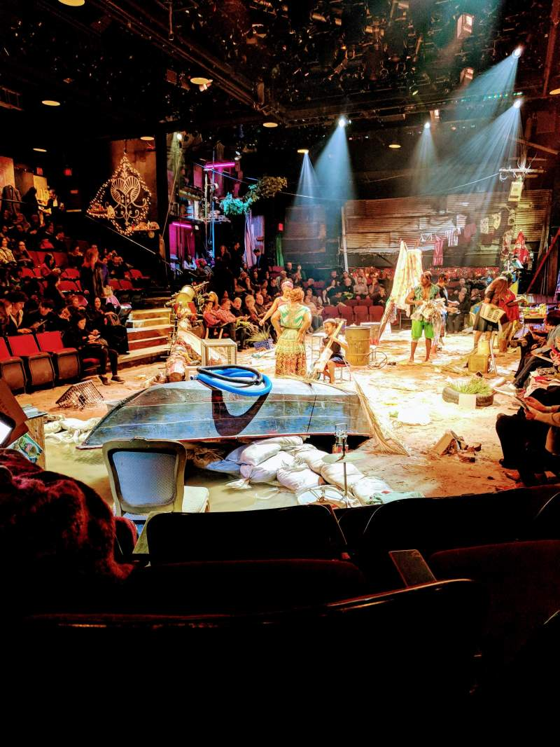 Circle in the Square Theatre, vak: Orch, rij: C, stoel: 106