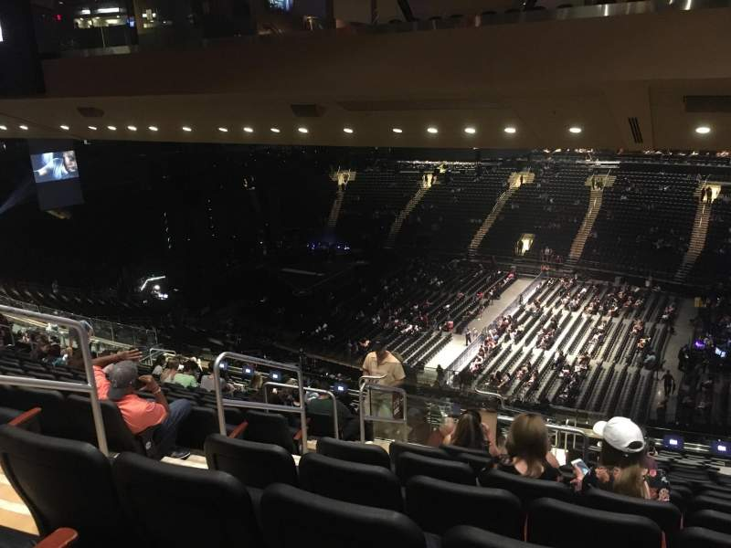 Madison Square Garden, vak: 226, rij: 18, stoel: 5