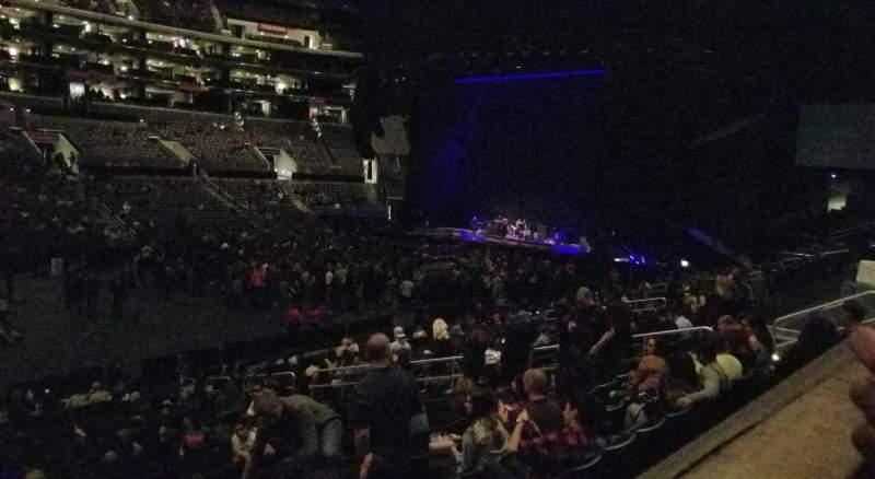 Staples Center, vak: PR6, rij: 1, stoel: 11