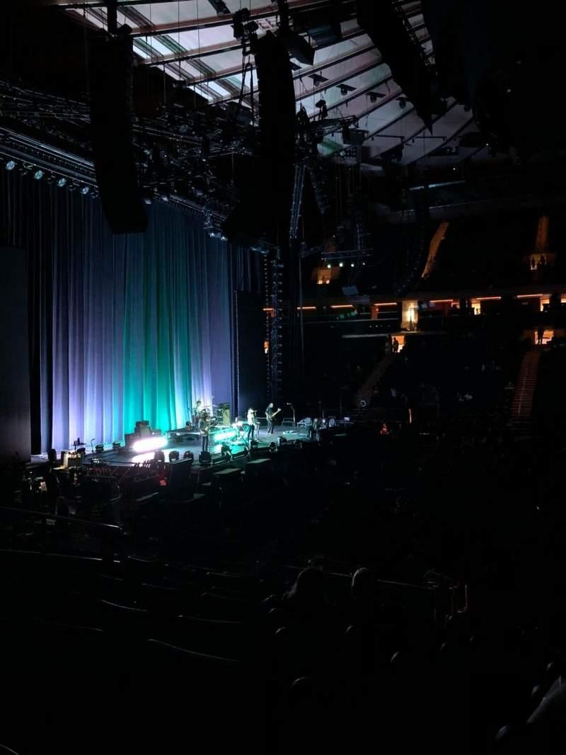 Madison Square Garden, vak: 117, rij: 11, stoel: 7