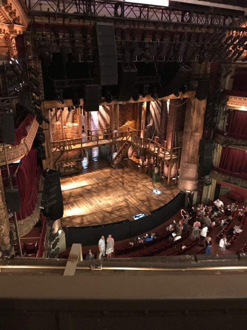 CIBC Theatre, vak: Balcony L, rij: B, stoel: 11