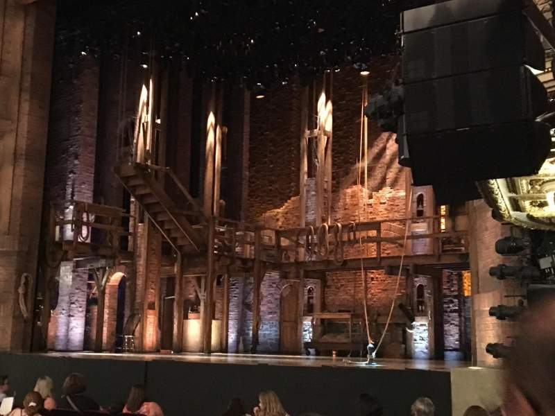 CIBC Theatre, vak: Orchestra right, rij: Row N , stoel: 24