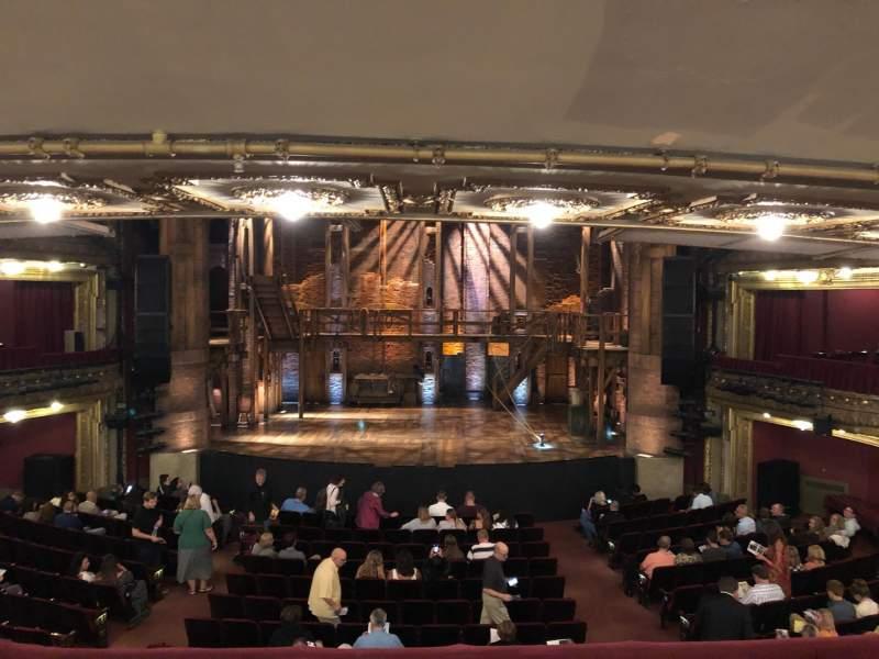 CIBC Theatre, vak: DRCR-C, rij: Row B, stoel: 207